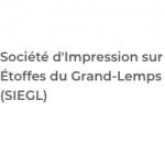 Logo Société d'Impression sur Étoffes du Grand-Lemps (SIEGL)