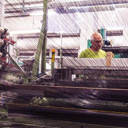 Gestion d'une machine industrielle textile