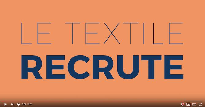 le textile recrute