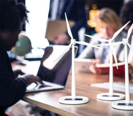 Éoliennes miniatures